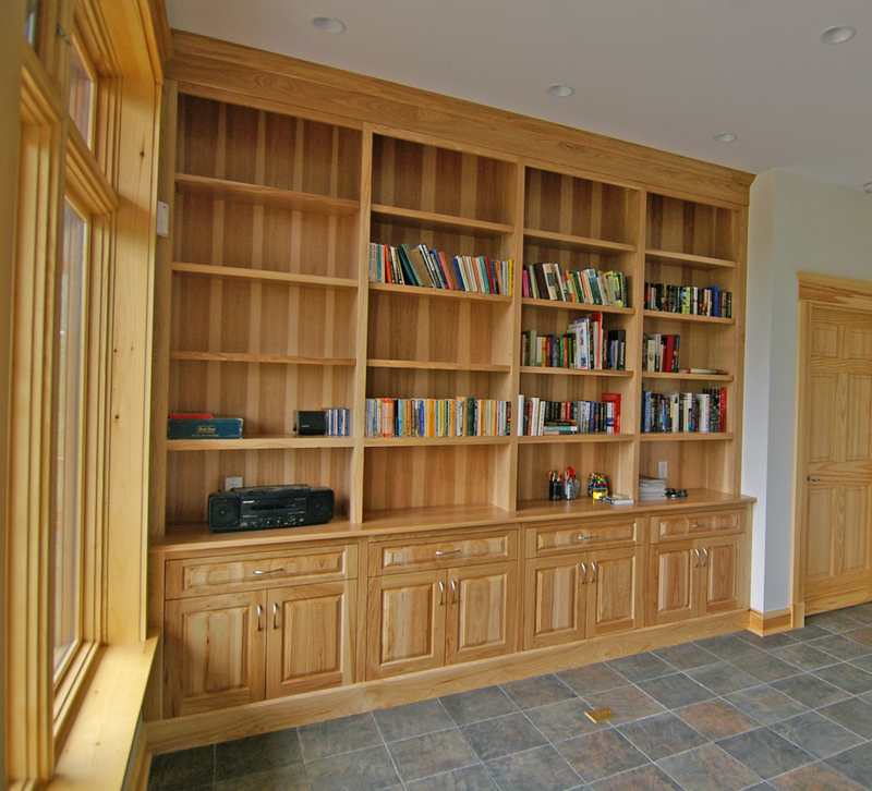 Fine Built In Custom Kitchen, Library, Walk-in Closet